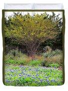 Spring In Texas Duvet Cover