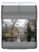 Spring In The Aranjuez Gardens Spain Duvet Cover