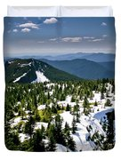 Spring In The Cascades Duvet Cover