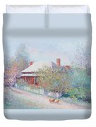 Spring In The Country Duvet Cover