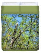 Spring In The Deep Woods Duvet Cover