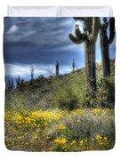 Spring In The Desert  Duvet Cover