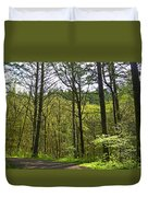 Spring In The Gorge Duvet Cover