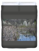 Spring In The Wetlands Duvet Cover