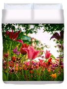 Spring In Tivoli Duvet Cover