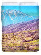 Spring In Whitewater Canyon Duvet Cover