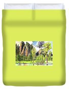 Spring In Yosemite Duvet Cover
