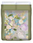 Spring Into Easter Duvet Cover