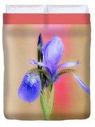 Spring Iris 2 Duvet Cover
