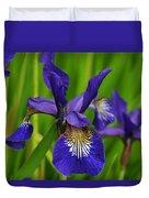 Spring Iris Duvet Cover