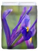 Spring Iris Three Duvet Cover