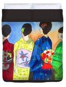 Spring Kimono Duvet Cover