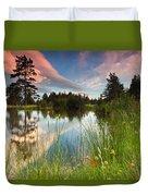 Spring Lake Duvet Cover