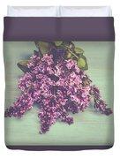 Spring Lilacs Duvet Cover
