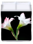 Spring Lilies Duvet Cover