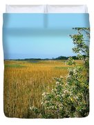 Spring Marsh Duvet Cover