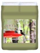 Spring Migration Hummingbird Duvet Cover