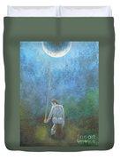 Spring Moonbeam Duvet Cover