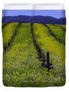 Spring Mustard Field Duvet Cover