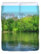 Spring On Barbadoes Island Duvet Cover