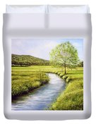 Spring On The Canal Duvet Cover