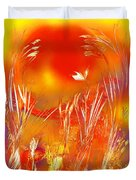 Spring On The Red Planet Duvet Cover