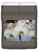 Spring Orchids Duvet Cover