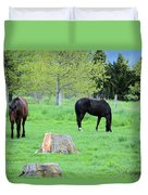 Spring Pastures Duvet Cover