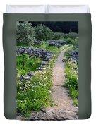 Spring Path/loving Duvet Cover