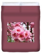 Spring Pink Tree Blossoms Art Prints Baslee Troutman Duvet Cover