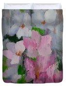 Spring Rain Oil Painting Duvet Cover