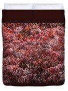 Spring Reds Duvet Cover