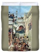 Spring Duvet Cover by Sir Lawrence Alma-Tadema