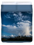 Spring Skies Of The Rogue Valley Duvet Cover