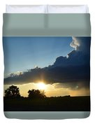 The Sun Always Comes After The Storm Duvet Cover