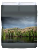 Spring Storm Coming Duvet Cover