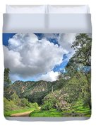 Spring Trail In The Canyon Duvet Cover