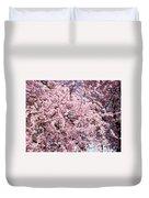 Spring Trees Art Prints Pink Springtime Blossoms Baslee Troutman Duvet Cover