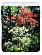 Spring Trees Duvet Cover