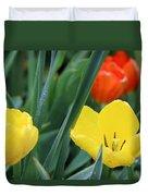 Spring Tulips 144 Duvet Cover