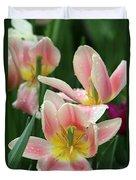 Spring Tulips 151 Duvet Cover