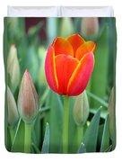 Spring Tulips 211 Duvet Cover