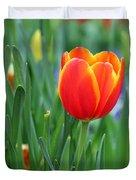 Spring Tulips 214 Duvet Cover