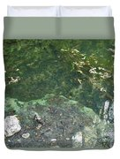 Spring Water At The Grotto Duvet Cover