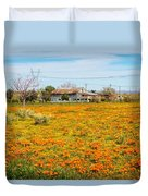 Spring Wildflower Farm Duvet Cover