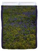 Spring Wildflowers Duvet Cover