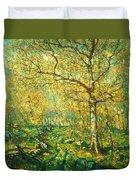 Spring Woods Duvet Cover