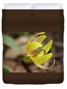 Spring Yellow Flower Duvet Cover