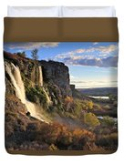 Springs Of Thousands Duvet Cover
