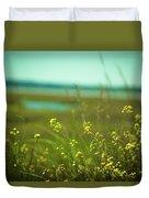 Springtime At The Beach Duvet Cover